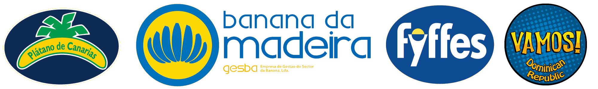 banana da madeira logos